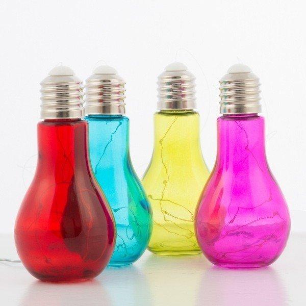 Основной вопрос, который встает при виде этих лампочек, как добиться подобного цвета? Вариантов покраски несколько: декор, интересно, красиво, своими руками, старая лампочка, фото
