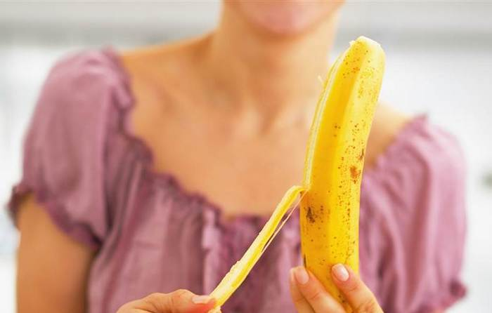 Вот, как нужно есть банан на самом деле.