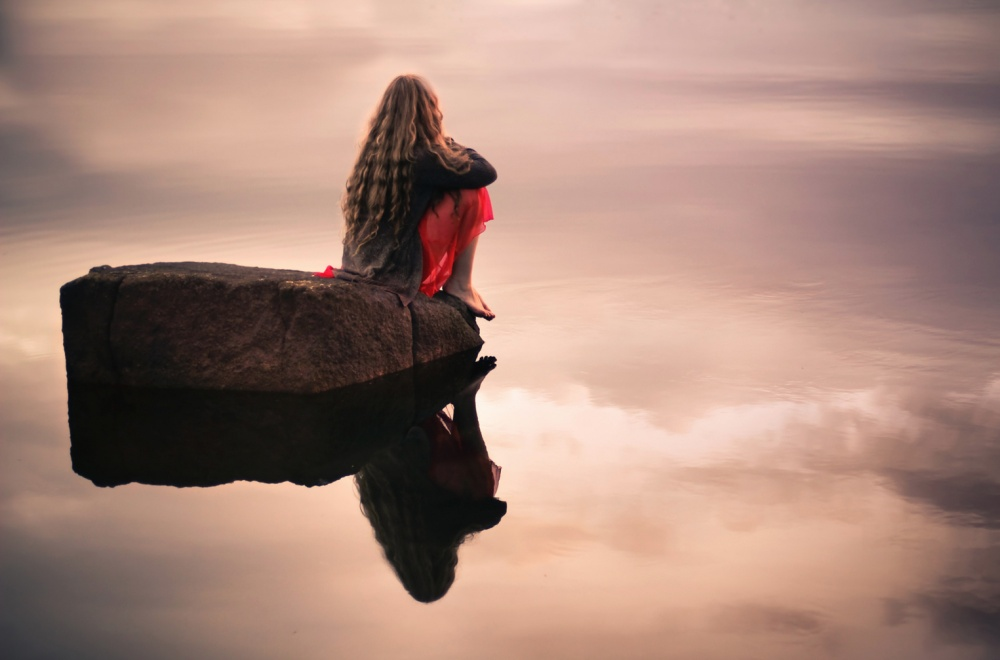 Одиночество - бездна души, предназначенная для Бога