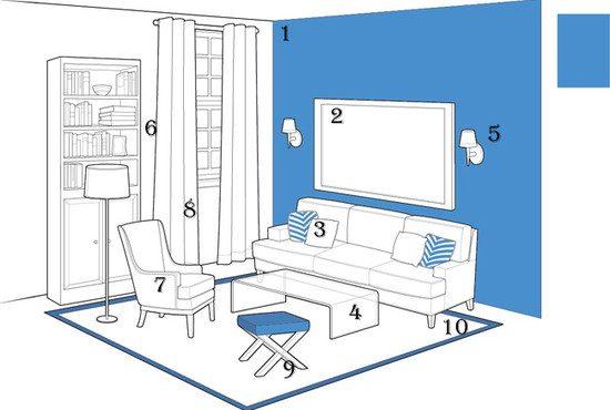 10 способов визуально увеличить комнату