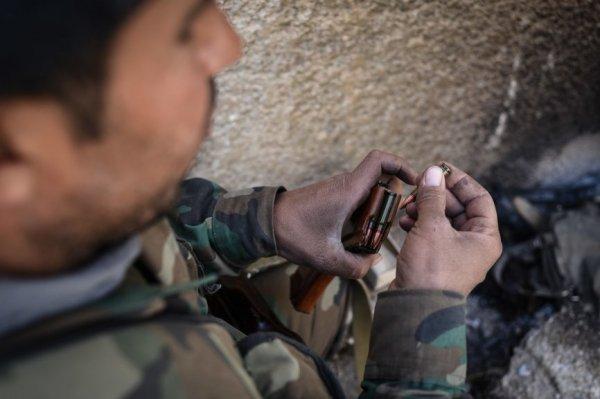 Столкновения между боевиками начались в Восточной Гуте