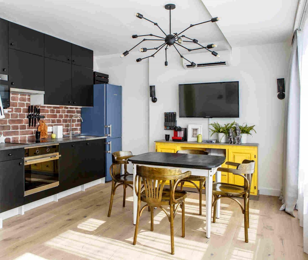 Студия площадью 35 кв. метров от Korneev Design Workshop