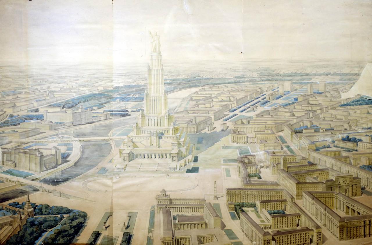 Дворец Советов:  утопический прожект СССР