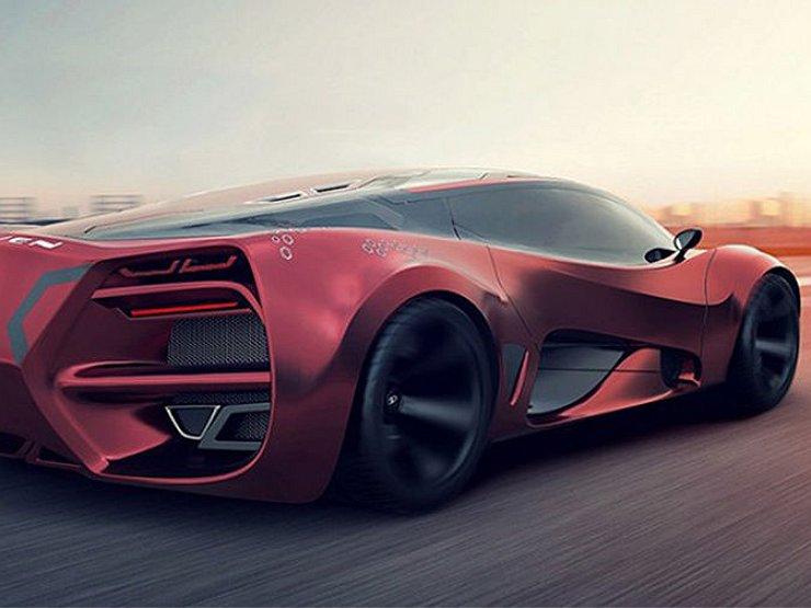 В Крыму создатут уникальный суперкар Milan Red