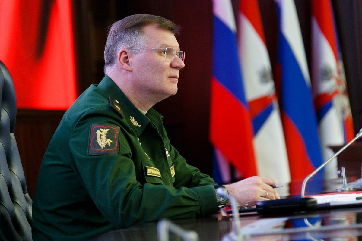 Генерал Игорь Конашенков, официальный представитель Министерства обороны Российской Федерации. Источник изображения: https://vk.com/denis_siniy