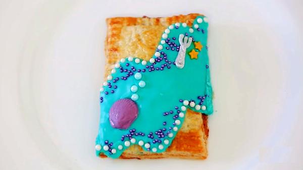 Пирожки с малиновым джемом: …