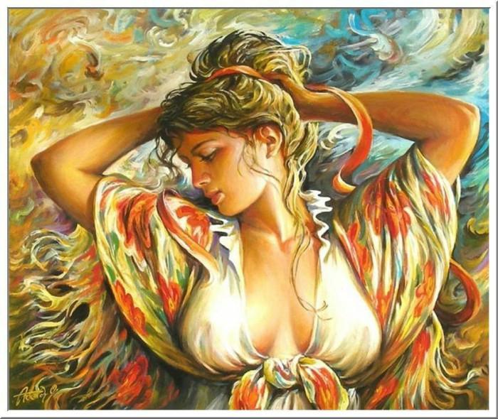 женский образ Аркадий Острицкий - 01