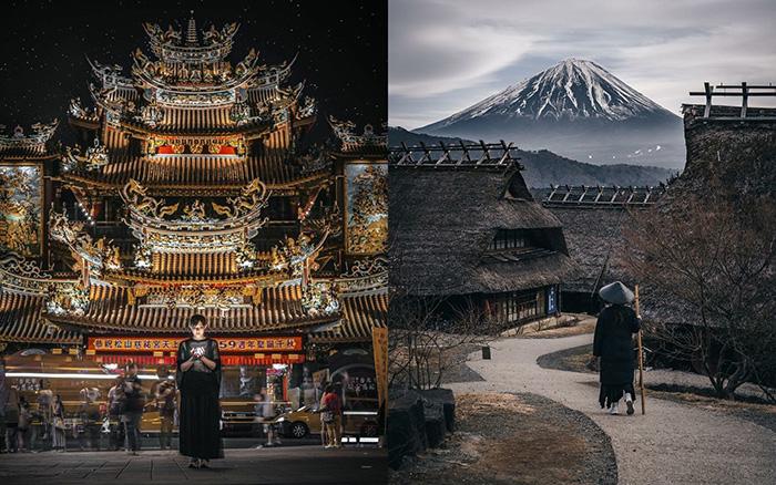 Повседневная жизнь в Азии на нетривиальных художественных фотографиях японца Рёсукэ Косуге