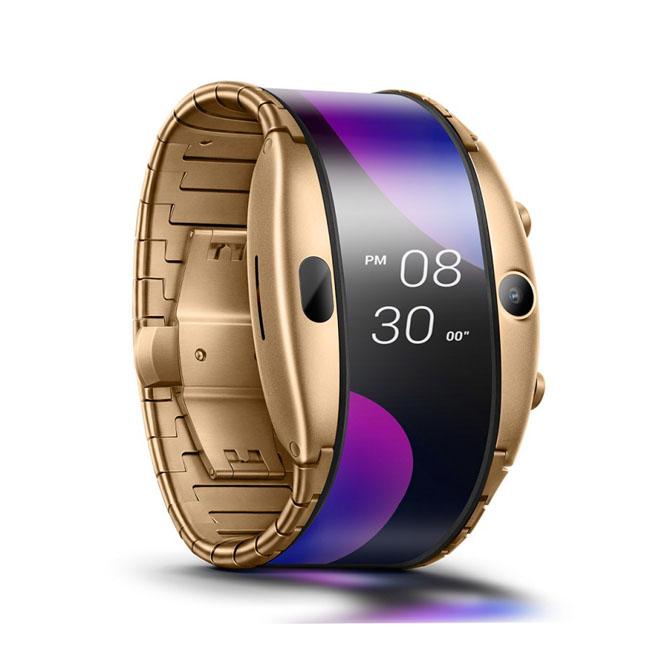 Анонсированы часы-телефон Nubia Alpha с гибким дисплеем новости