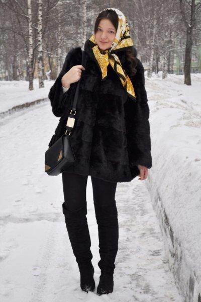 9 идей, с чем носить ботфорты и не выглядеть как провинциалка