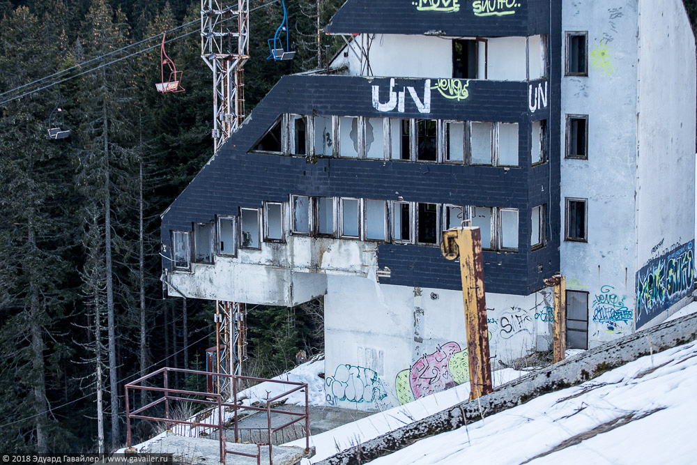 Заброшенные объекты Олимпиады 1984 в Сараево