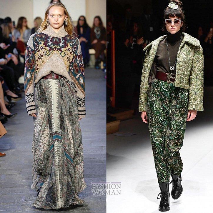 Модные принты осень-зима 2019-2020 фото №33