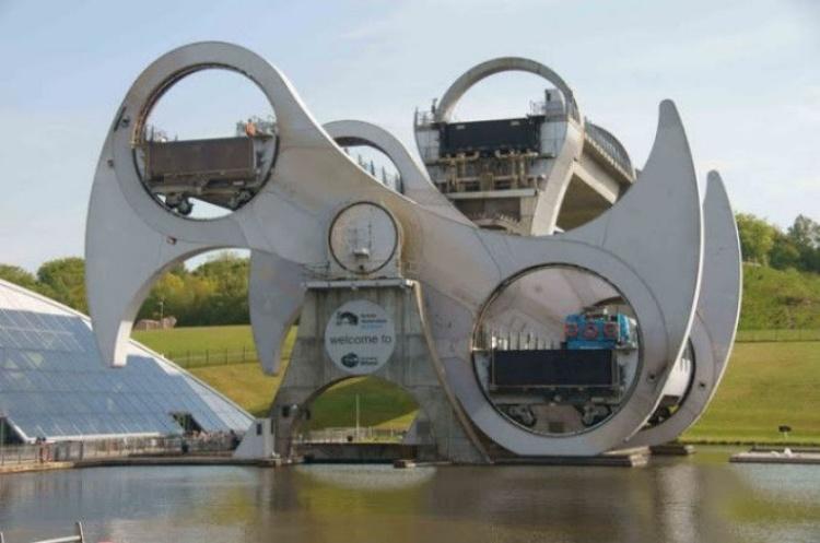 Колесо Фолкерка – для чего был построен загадочный механизм в Шотландии