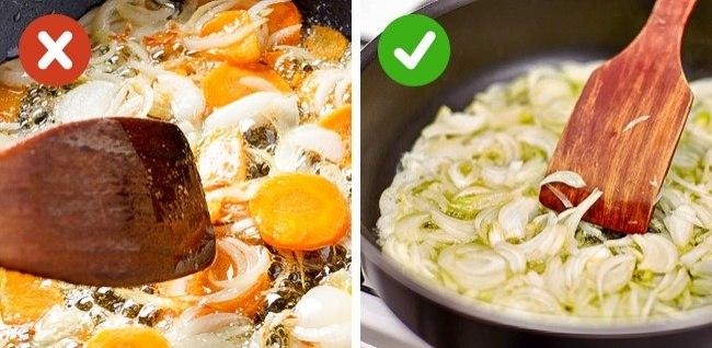 10 распространенных кулинарных ошибок, которые мешают вашим блюдам быть идеальными