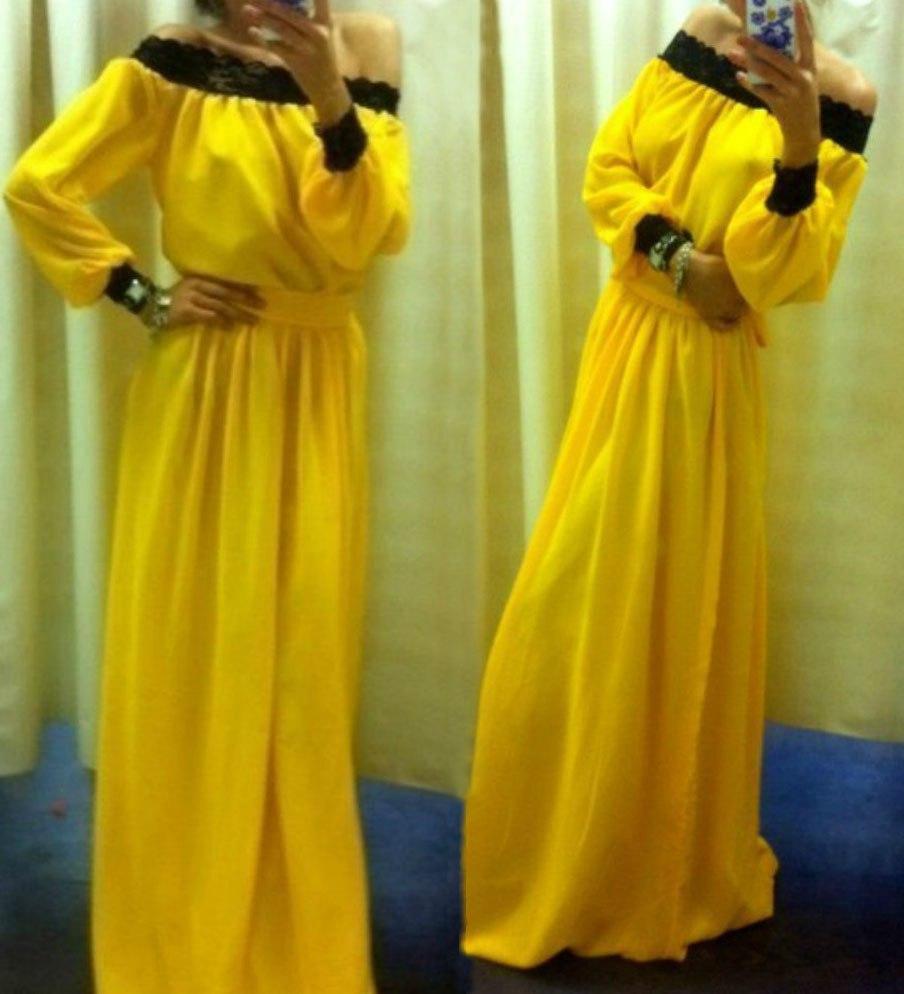 Платье «барышня-крестьянка» 8