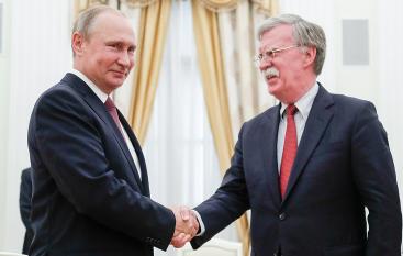 Путин и  Болтон остались каждый при своем мнении после обсуждения ситуации на Украине