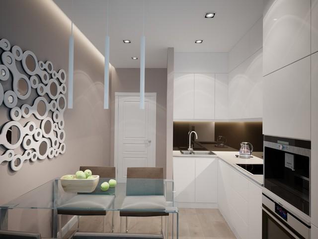 современные угловые кухни дизайн фото