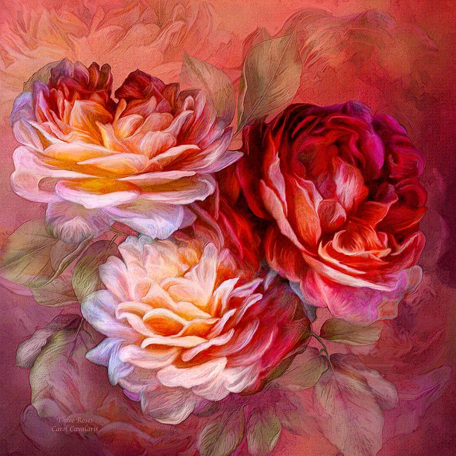 Цветочный фантазии Carol Cavalaris
