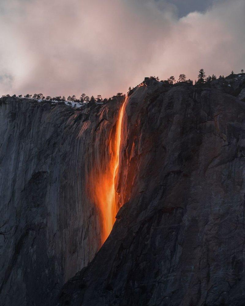 """""""Огнепад в долине Йосемити"""", Сара Бети national geographic, конкурс, красота, природа, удивительно, фото, фотография, фотоподборка"""