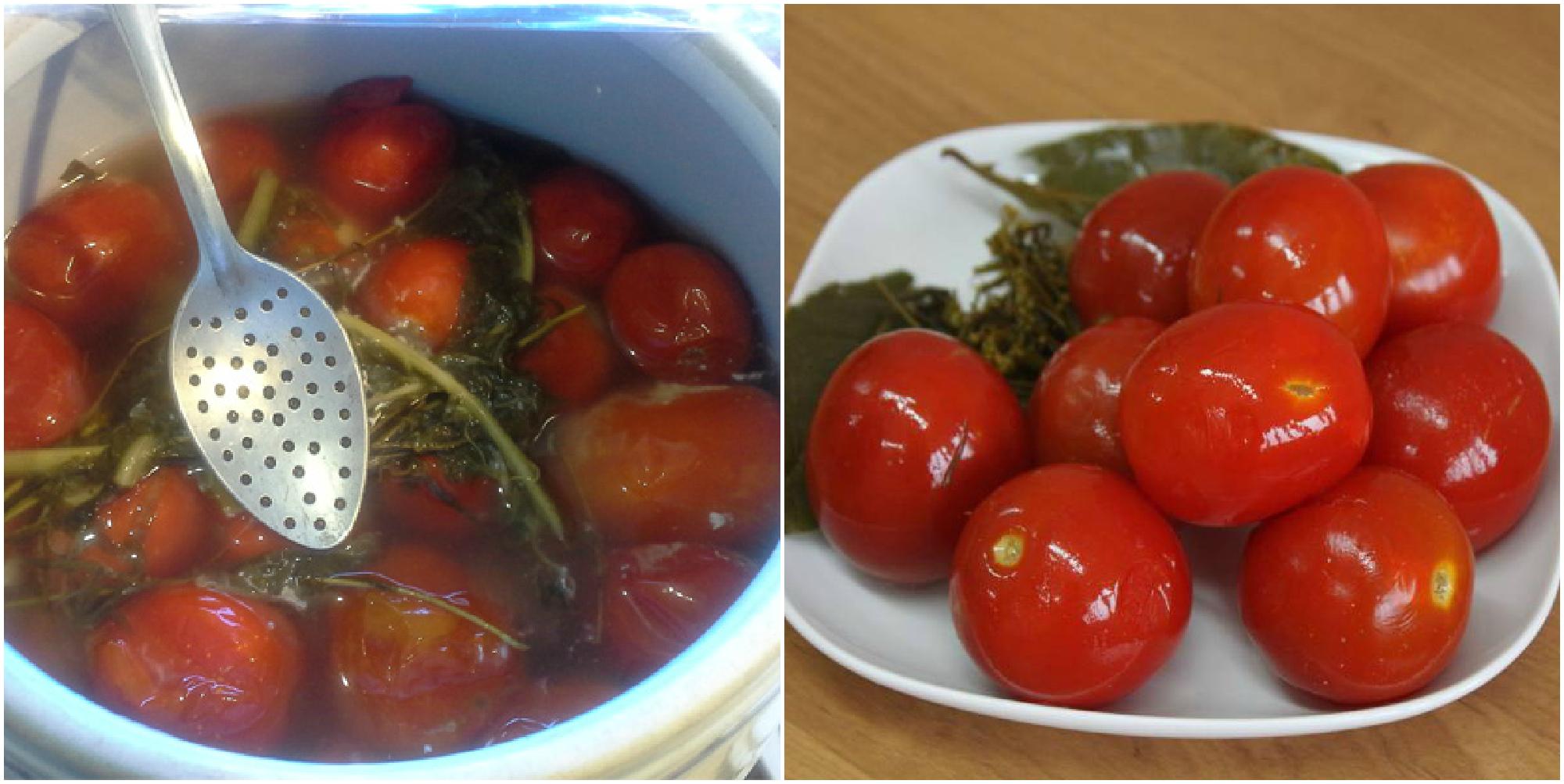 Рецепт квашеных помидорчиков с сахаром. Таких вкусных вы еще не пробовали!