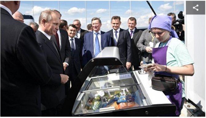Песков рассказал, как Путин …