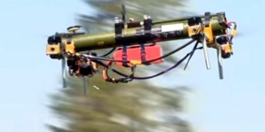 Видео: В Беларуси создали летающий гранатомет
