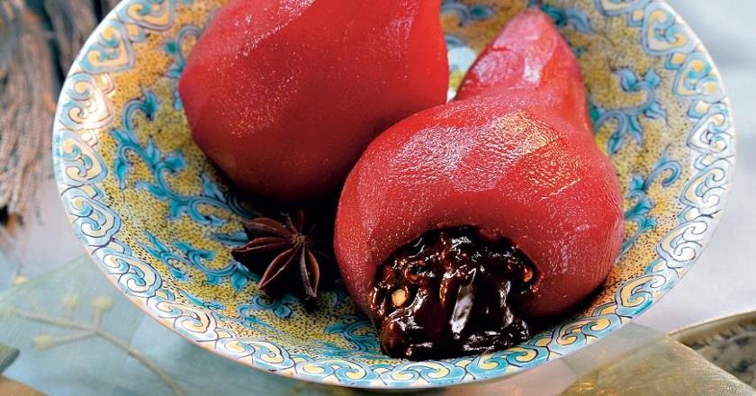 Десерт из груш «Помпадур»