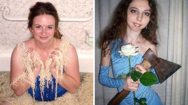 Какого черта тут происходит: необъяснимые фотографии россиянок с сайтов знакомств