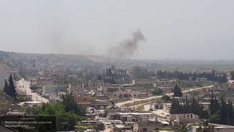 Десятки боевиков пытались атаковать сирийскую Хаму