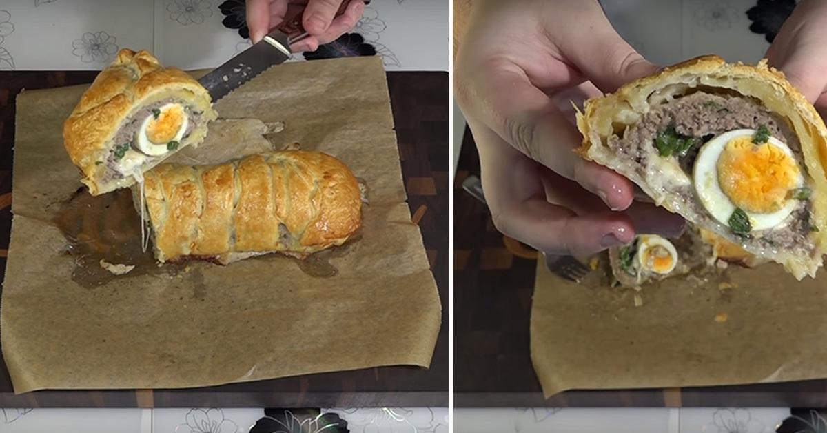 мясной пирог быстрый рецепт
