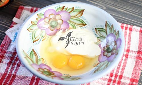 домашние кексы фото йогурта и яиц