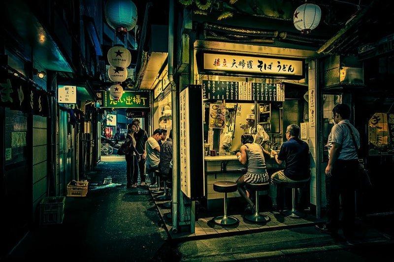 Поздним вечером красота, мечта, путешествие, страна, фотография, фотомир, япония