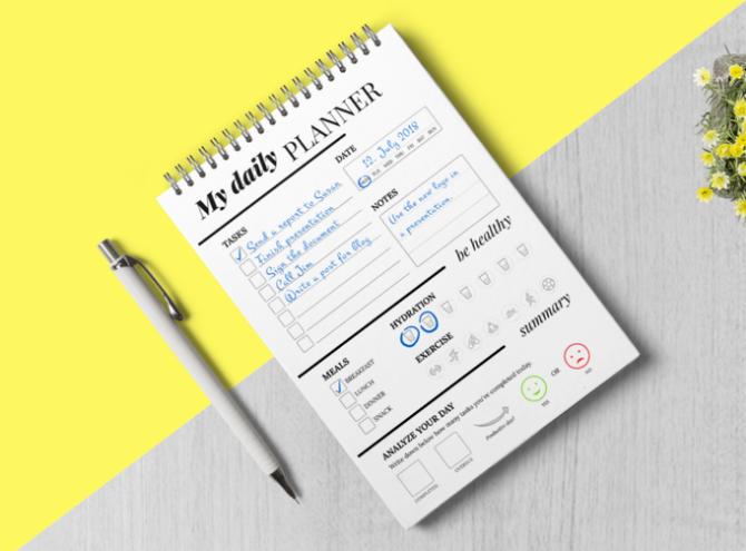 5 бумажных планировщиков задач