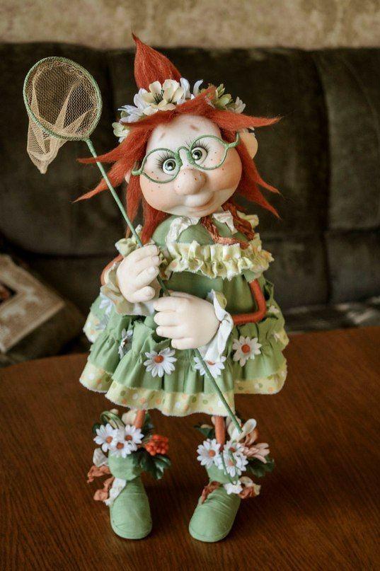 Чулочные прелести: куклы Ольги Чечеткиной