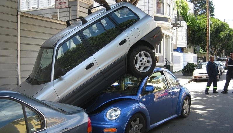 АВТОШКОЛА. Парковка в городс…