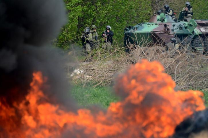 Украинские силовики пошли на прорыв под Мариуполем, в ДНР сообщили об исходе атаки