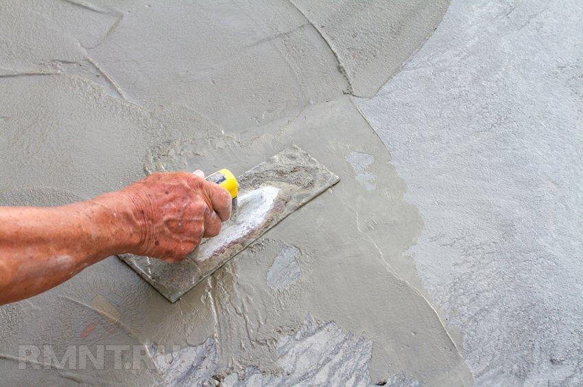 ремонтные составы для трещин в бетоне