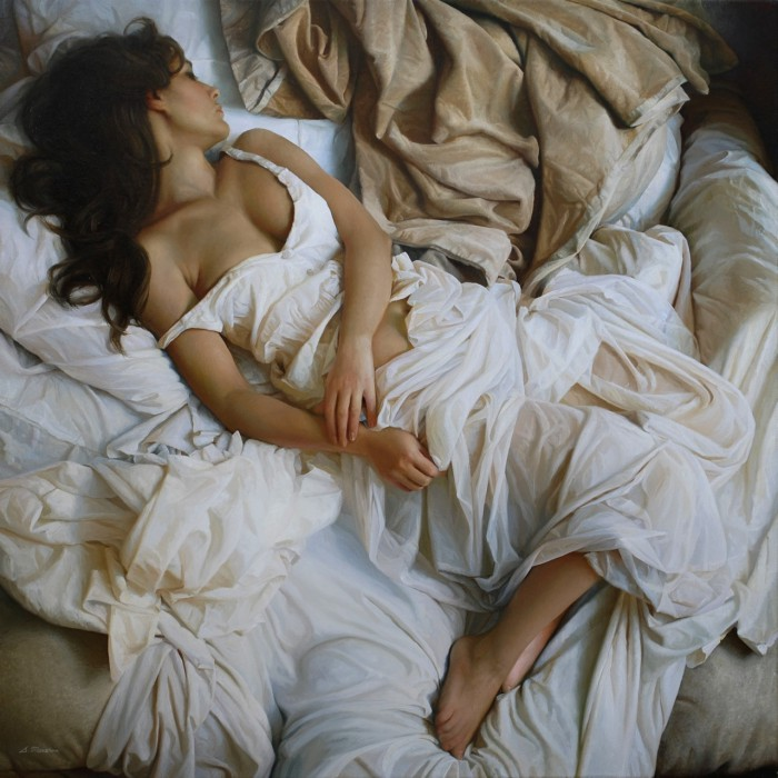 Женское очарование на картинах Сергея Маршенникова