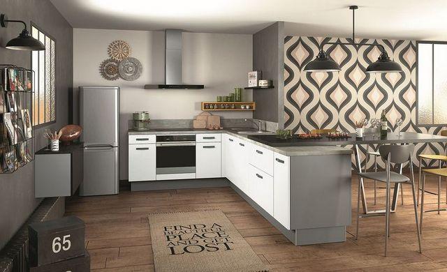 современная кухня в доме фото