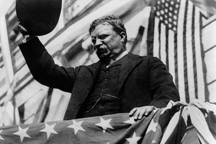 Теодор Рузвельт -<br> когда президент почти ковбой.