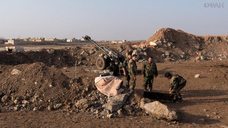 Армия Сирии отбила у боевиков несколько высот к югу от Пальмиры