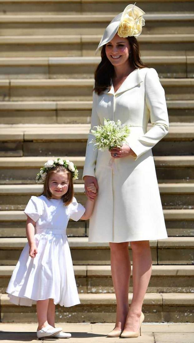 Маленькая модница: как Кейт Миддлтон сочетает наряды дочери со своими образами