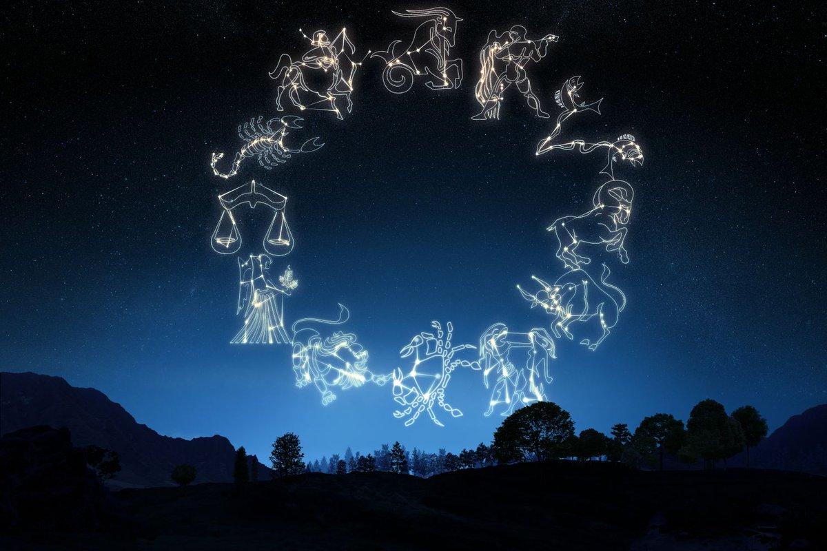 Знаки зодиака на небе картинки красивые