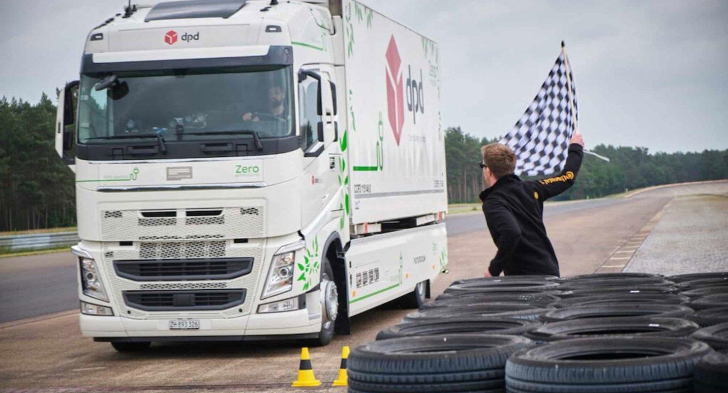 Электрический грузовик Futuricum Logistics 18E установил рекорд дальности поездки в своем сегменте Автомобили