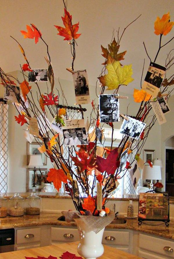 поделки из осенних листьев и шишек