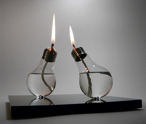 Вы и представить не могли, что такое можно сделать из перегоревшей лампочки. Гениально! декор, интересно, красиво, своими руками, старая лампочка, фото