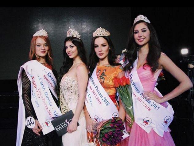В России выбрали самых красивых девушек