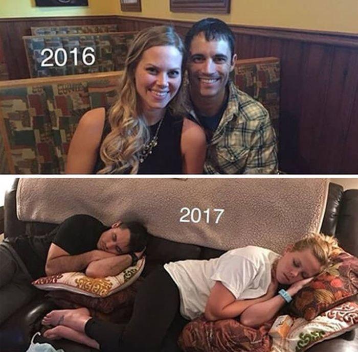 Жизнь родителей до рождения их детей и после