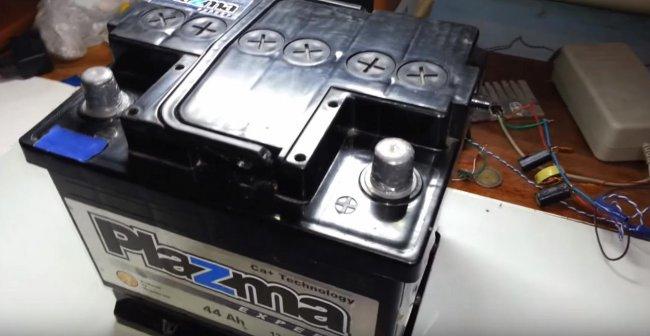 Как зарядить аккумулятор автомобиля блоком питания ноутбука автомобили,водители,ремонт автомобилей,тюнинг