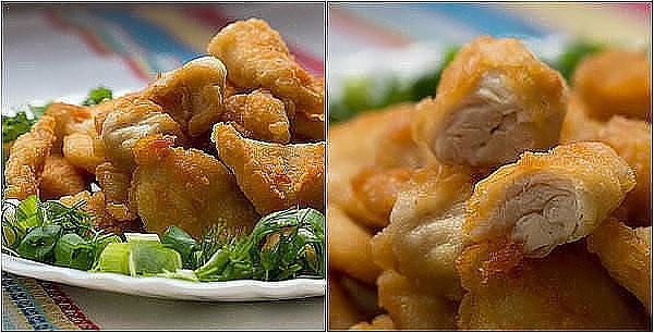 Наггетсы из курицы